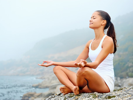 Overcome Stress with Yoga Breathing Techniques.
