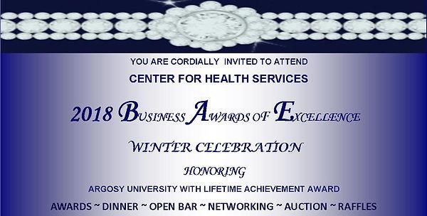 2018 BUSINESS AWARDS WINTER CELEBRATION.