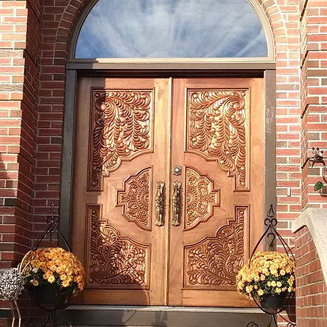 My new front doors to _The Studio_ are f