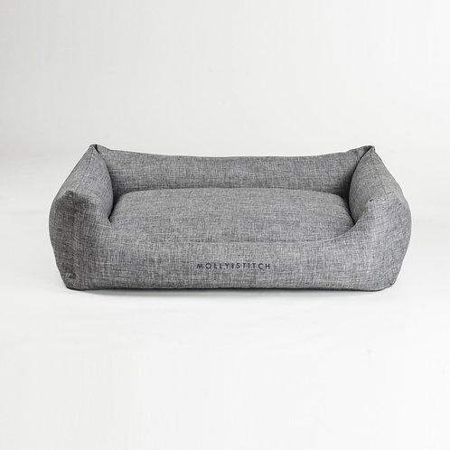 Molly & Stitch Soft Rock Hundebett Grau