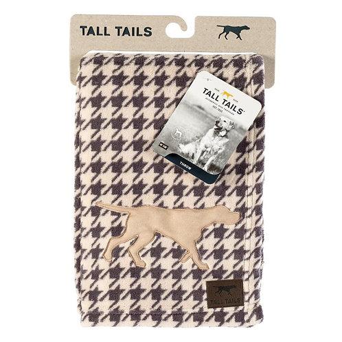 Tall Tails Kuscheldecke Fleece Hahnentrittmuster