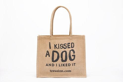 Treusinn Jute Shopper Kiss