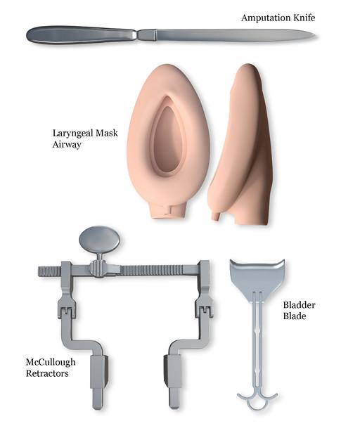 3D Modeled Instruments
