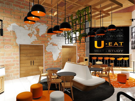 Unique & Modern Coffee Shop Design by Jaco Studio