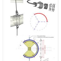 Lighting bracket detail