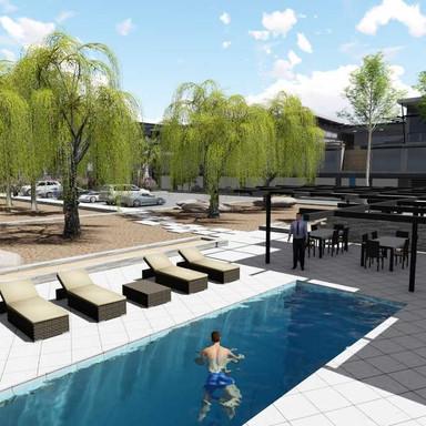 Hosea Kutako Hotel Swimming pool