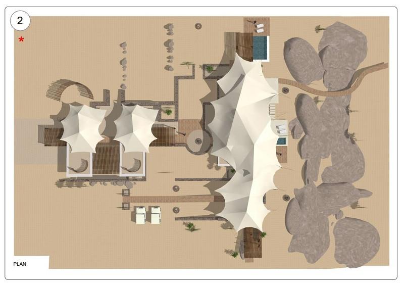 Building plans for safari lodge redesign