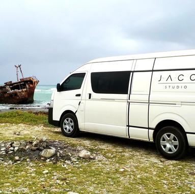 South Africa Studio Van