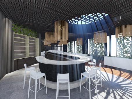 Rooftop Restaurant design