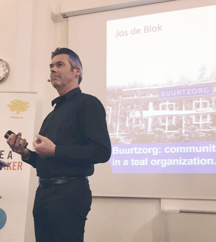 Jos de Blok in Wien beim Vortrag März 2017