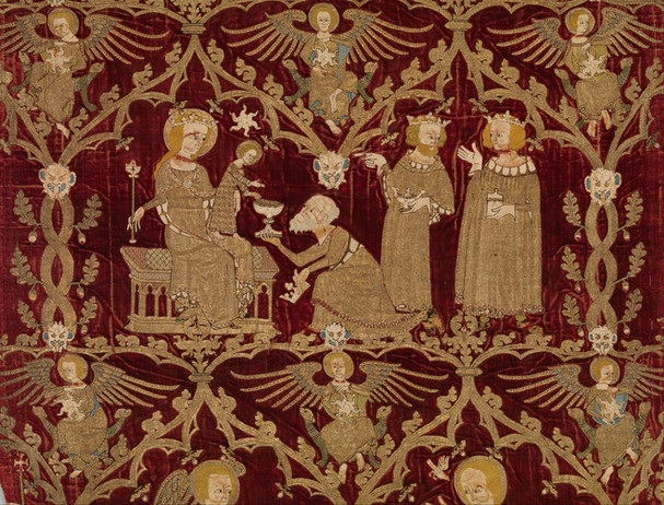 Opus Anglicanum: What is the significance of English medieval embroidery,  why did it change in style during the fourteenth century and what is its legacy?