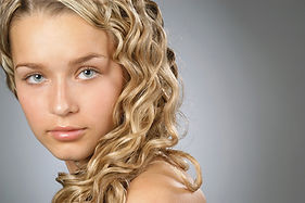Curly Blonde
