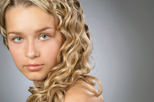 Blonde Curly Human Hair Extensions