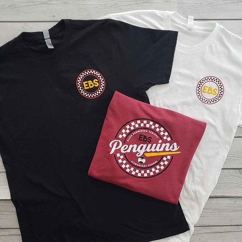 Mens - EBS Checkers Tshirt