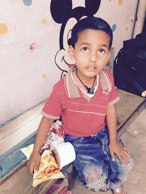 Providing Food in India