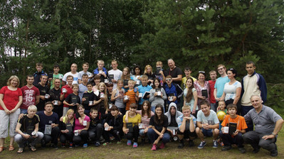 Bible Camp in Russia