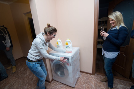Washing Machine for Transition Home