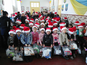 Providing Christmas for the Children