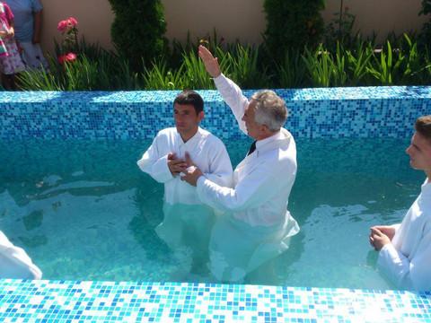 Transition Home Baptism!