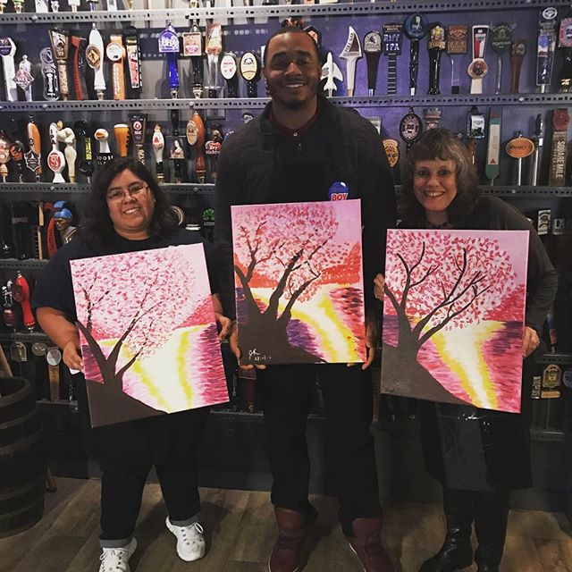 Join us next month! You don't want to miss this 😁😁😁 #ootd #paintnite #paintandsip #create #art #m