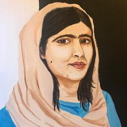 Malala Yousafazi _#seattleartist #seattlebusiness #axsmart #art #myart #seattle #malala #malalayousa