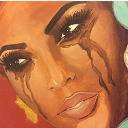 #swiperight  custom painting I did a few months back
