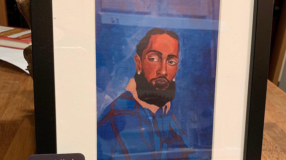 "Framed Print: ""Nipsey"" 8x10"