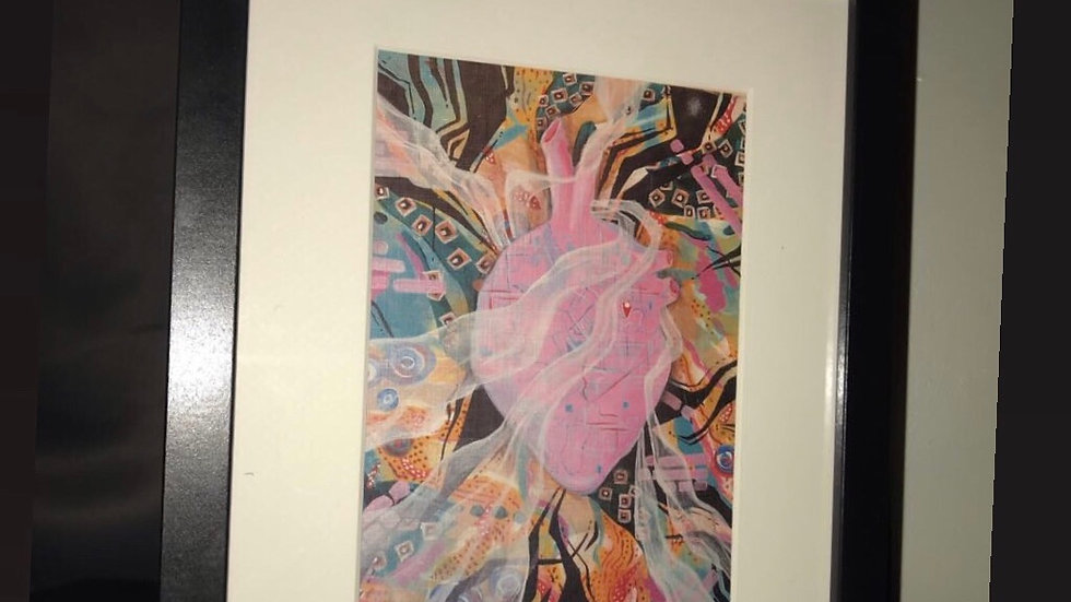 """Framed Print: """"You Are Here"""" 8x10"""
