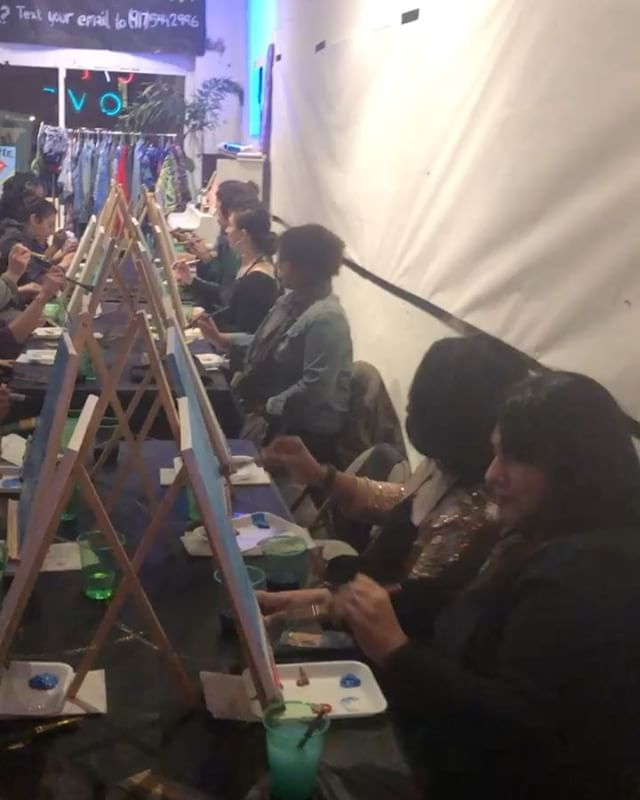 When I say this event was DOPE I'm so serous! Go follow _hardinthepaintseattle to see some of the pi