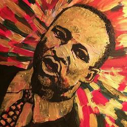 See more on IG __AXSM _#myart #seattle #MLK #BHM #art #painting #drawing #sketch #mua #ootd #ootn #c