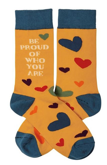 Be Proud of Who You Are Socks