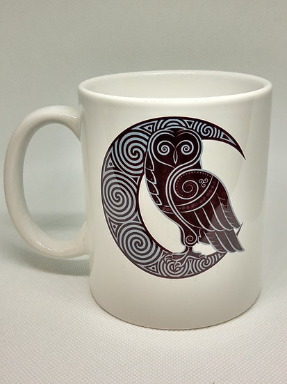 Moon and Owl Mug