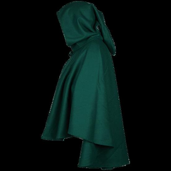 Canvas Short Cloak - Green