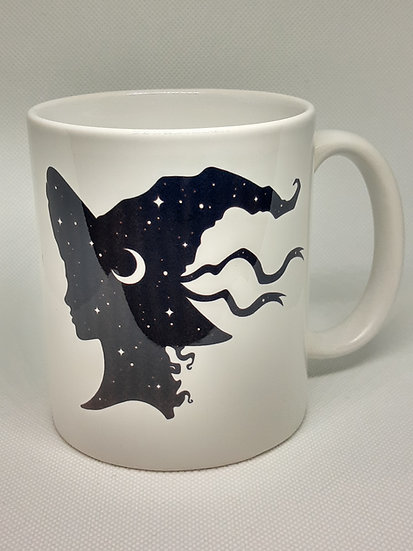 Witch Hat Celestial Woman Mug