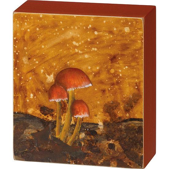 Box Sign - Mushrooms