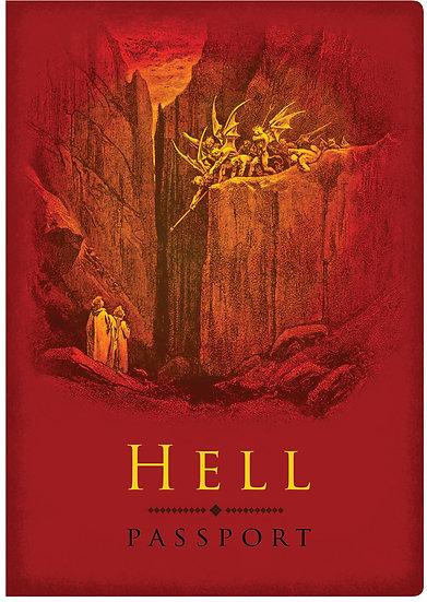 Hell Passport Notebook