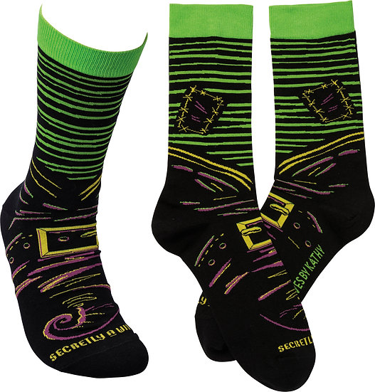 Secretly A Witch Socks