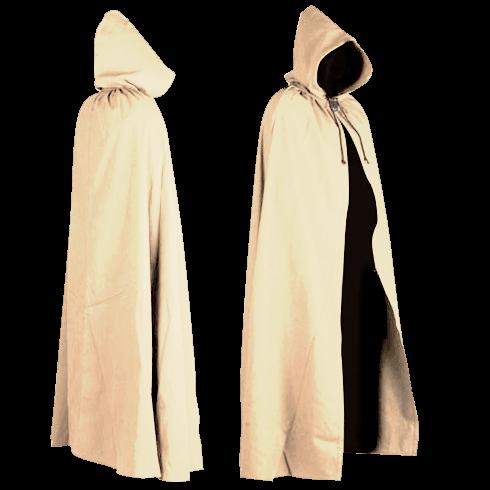 Canvas Cloak - Aaron Style - Cream