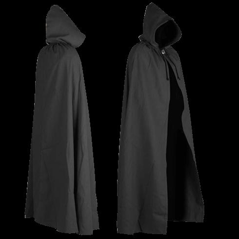 Canvas Cloak - Aaron Style - Black