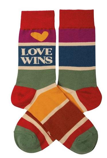 Love Wins Socks