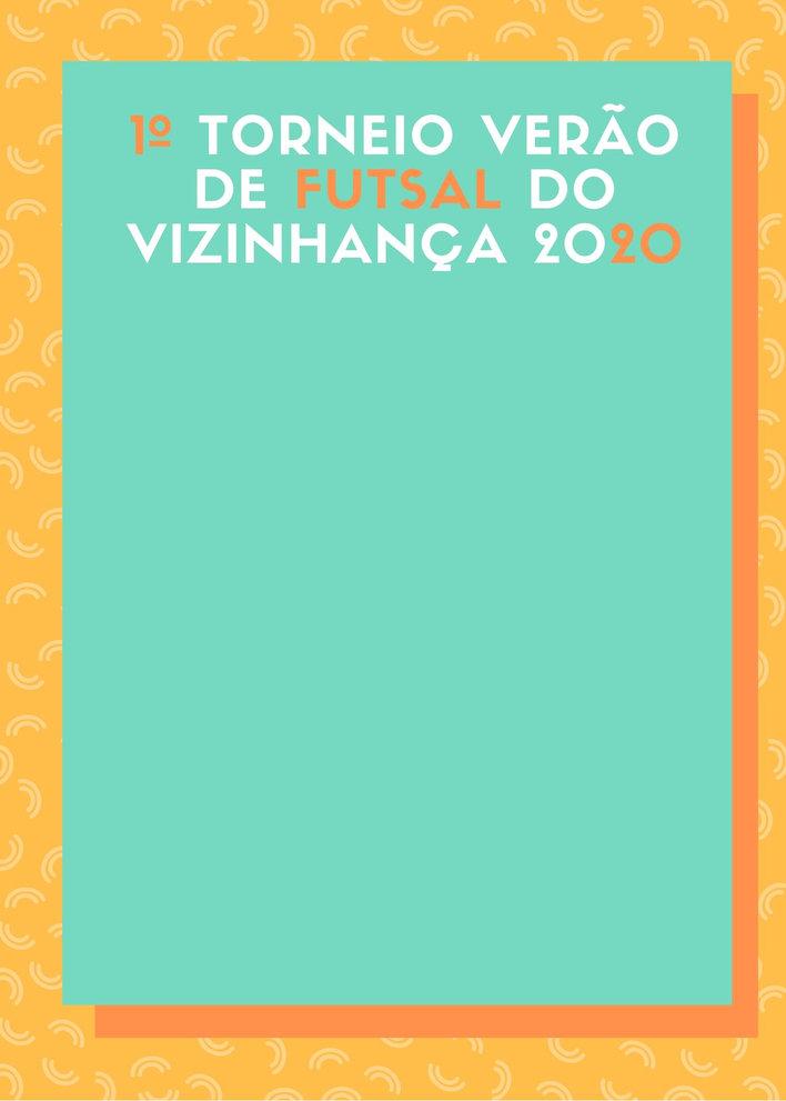 Orange Geometric Apparel Store Flyer (1)