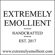 Extremely Emollient - Full logo - Black