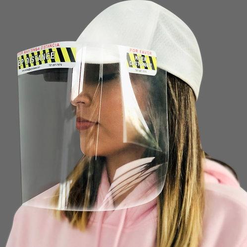 Face Shield para Gorra