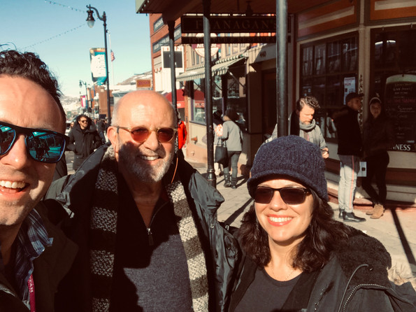 Sundance 2019 with Ian Chaney and Annie Howell