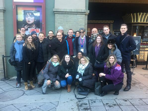 The whole Lorena crew