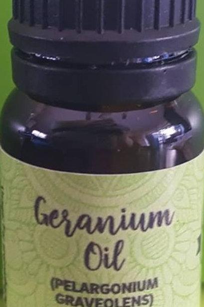 GERANIUM ESSENTIAL OIL  Pelargonium Graveolens)