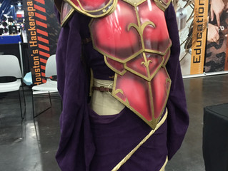 Thermoplastics in Cosplay