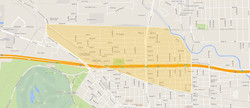 Cottage Grove Houston Map