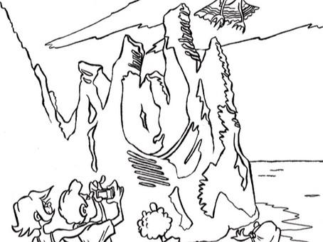 Le pôle touristique OUEST CORSICA propose des coloriages