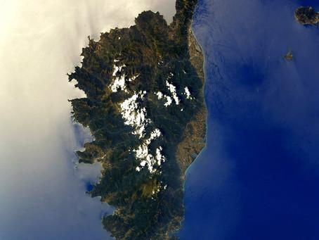 La Corse vue par Thomas Pesquet